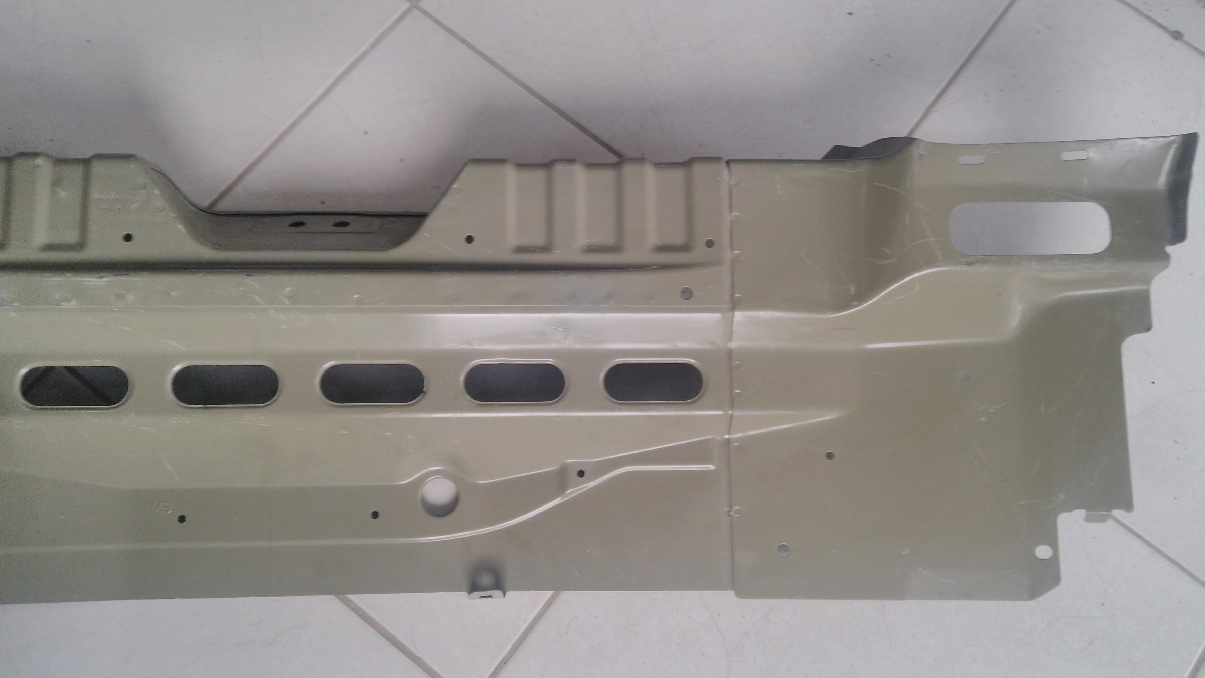 Painel Traseiro Chevrolet Agile 09 Interno Original
